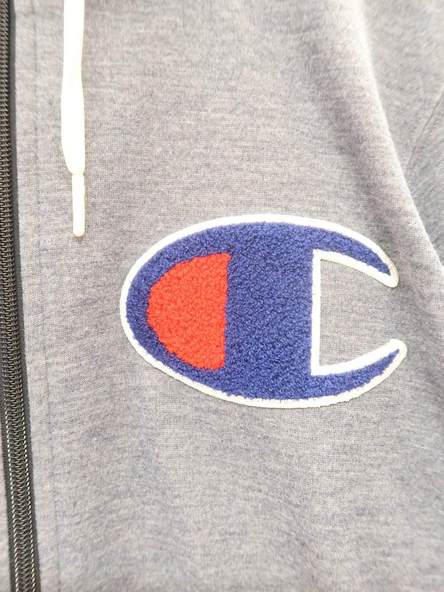 Champion(チャンピオン)ストレッチスウェットパーカー+パンツSET 長袖 紺 メンズ Aランク S/M