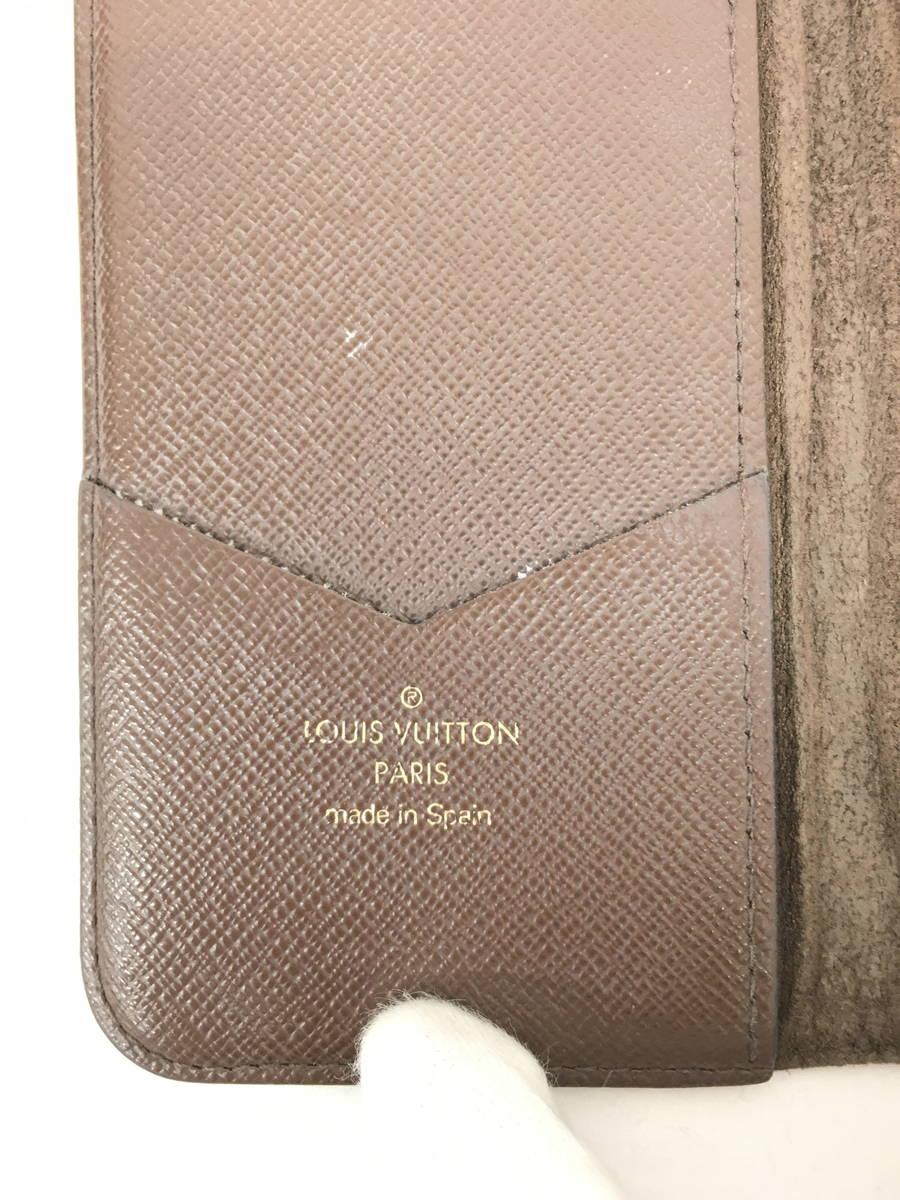 【送料無料】LOUIS VUITTON(ルイヴィトン)モノグラム iPhoneX&XS・フォリオ 手帳型スマホケース 茶/ベージュ レディース A-ランク [委託倉庫から出荷]