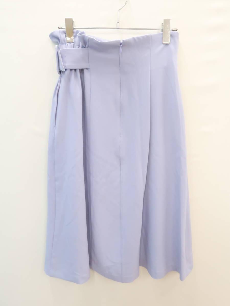 Techichi(テチチ)サイドベルトフロント金口スカート 紫 レディース 新品 S [委託倉庫から出荷]