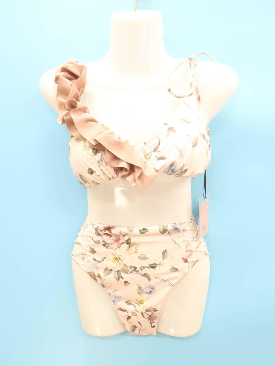 【送料無料】eimy istoire(エイミーイストワール)[2020SS]Mary TOPS&BOTTOM SET FLOWER WHITE 白/ピンク レディース 新品 M [委託倉庫から出荷]
