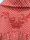 Banner Barrett(バナーバレット)シルクシャツミニワンピース 長袖 赤 レディース Aランク 36 [委託倉庫から出荷]