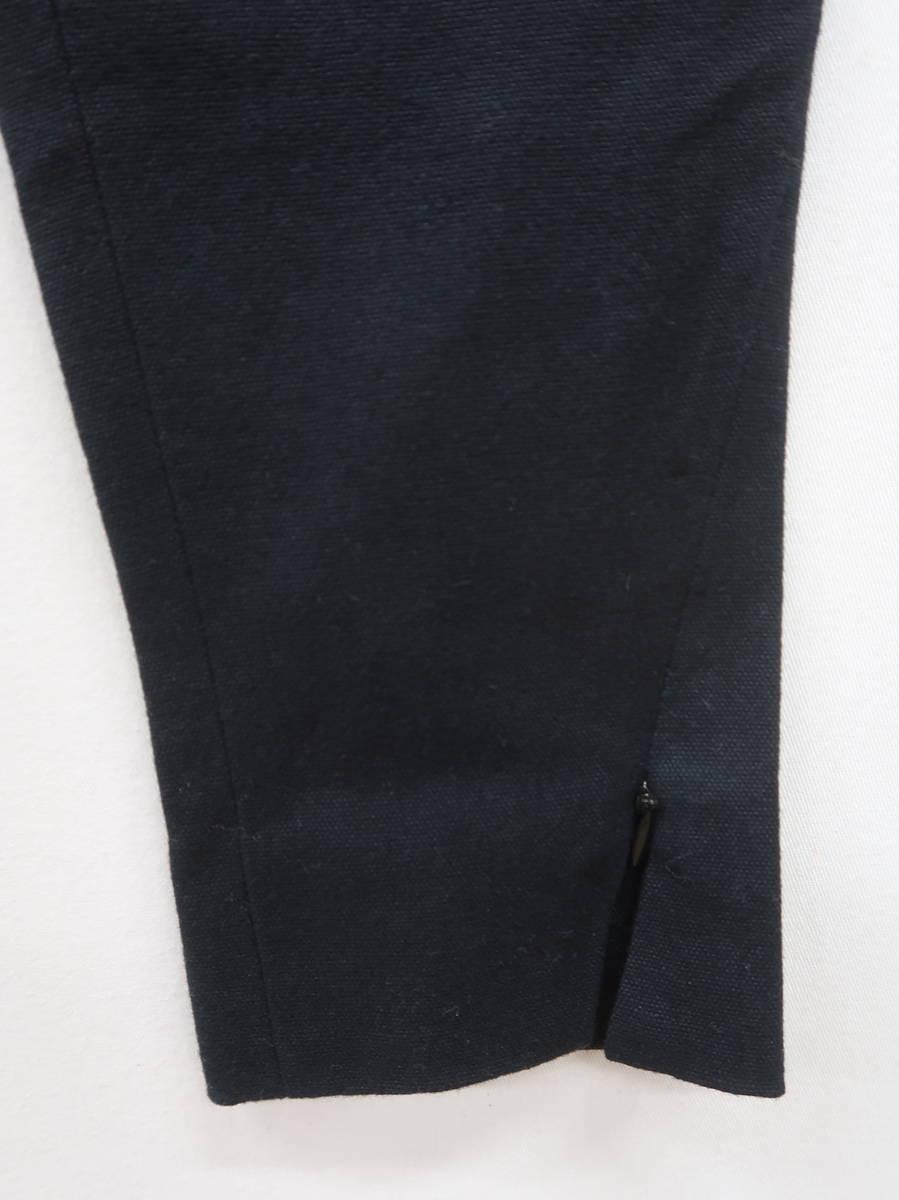 MARGINAL GLAMOR(マージナルグラマー)ローライズスリットコットンストレッチパンツ 黒 レディース Aランク 2 [委託倉庫から出荷]