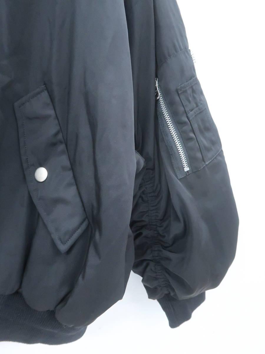 GYDA(ジェイダ)2WayフードMA-1 長袖 黒 レディース Aランク F [委託倉庫から出荷]