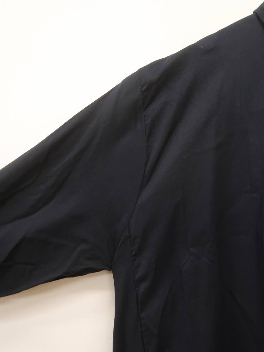 【送料無料】mizuiro ind(ミズイロインド)フレアシャツワンピース 長袖 紺 レディース Aランク [委託倉庫から出荷]