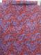 JEANASIS(ジーナシス)ペイズリー柄フリンジ大判ストール 青/赤 レディース Aランク [委託倉庫から出荷]