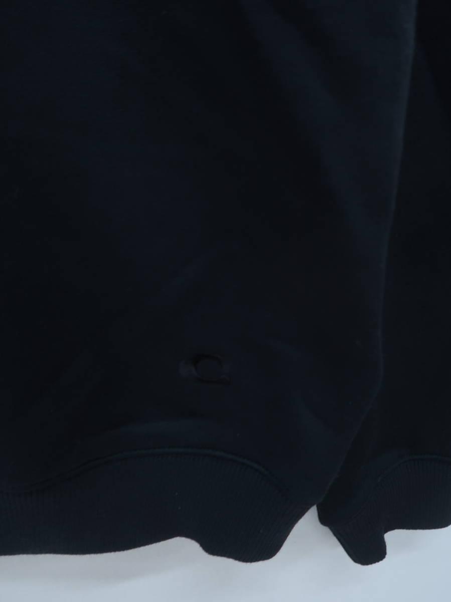 COACH(コーチ)ロゴ × フラワープルオーバー 長袖 黒/茶 レディース A-ランク S [委託倉庫から出荷]