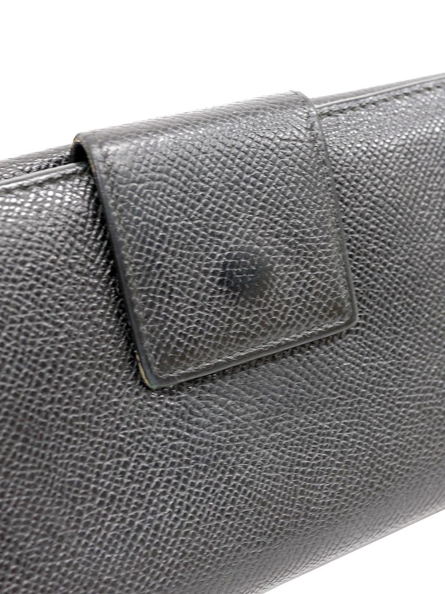 BVRGALI ブルガリブルガリ 長財布 ロングウォレット 黒 レディース A-ランク [当店倉庫から出荷]