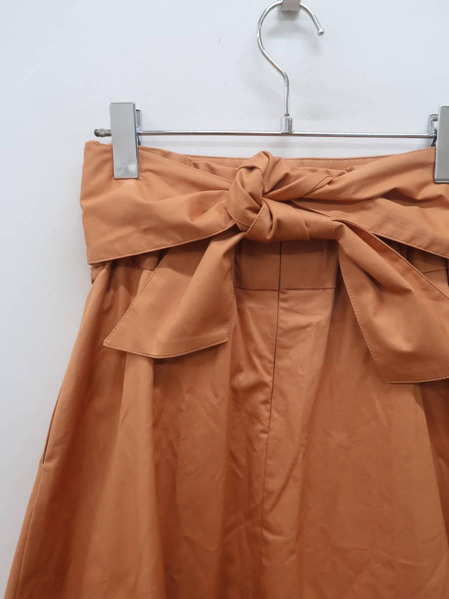 LAGUNAMOON(ラグナムーン)ミルフィーユフレアスカート オレンジ レディース 新品 S [委託倉庫から出荷]
