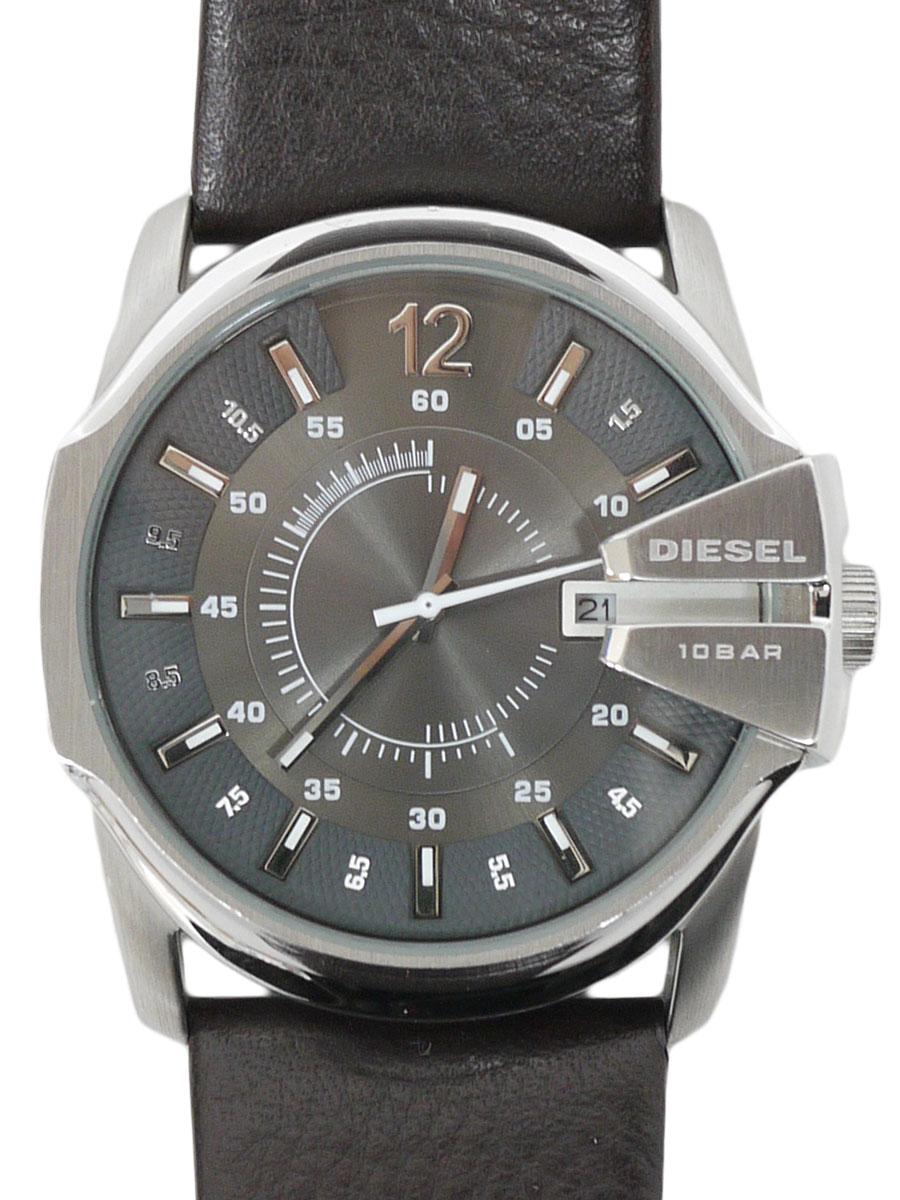 DIESEL(ディーゼル)DZ1206 MASTER CHIEF マスターチーフ 腕時計 ユニセックス 茶/シルバー レディース A-ランク [当店倉庫から出荷]
