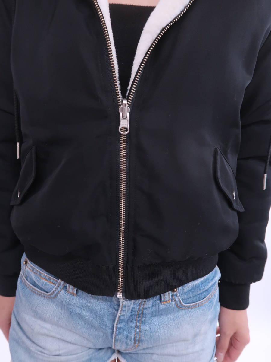 【送料無料】Rirandture(リランドチュール)リバーシブルブルゾン 長袖 白 黒 レディース Aランク 2 [委託倉庫から出荷]