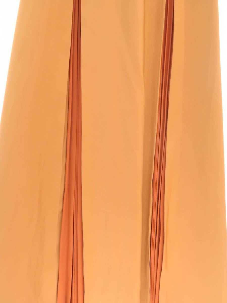 【送料無料】eimy istoire(エイミーイストワール)2019ポイントプリーツフロントノットワンピース ノースリーブ オレンジ レディース 新品 S [委託倉庫から出荷]