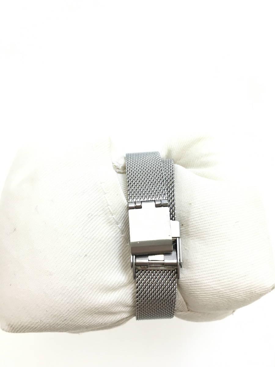 SKAGEN(スカーゲン)メッシュベルトラインストーン腕時計 シルバー ゴールド レディース A-ランク [委託倉庫から出荷]