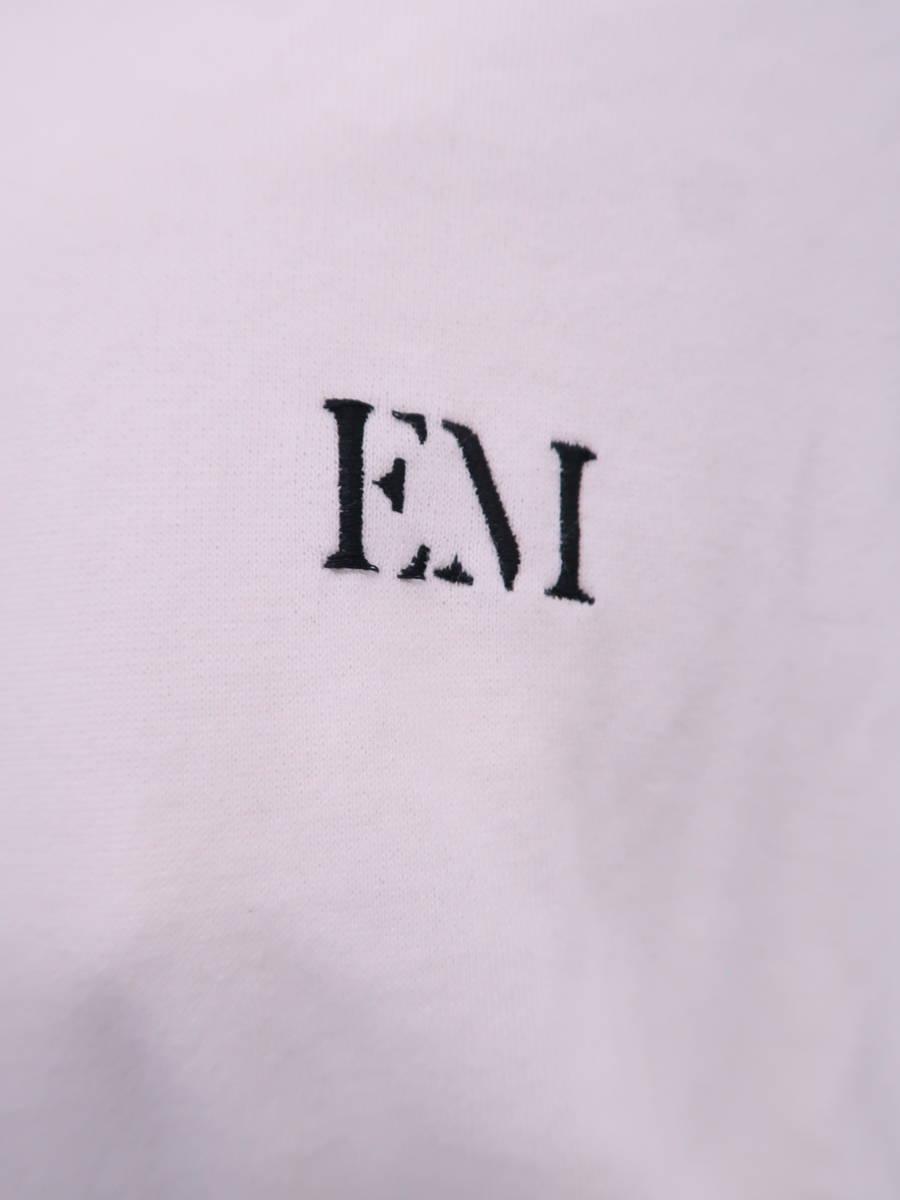 eimy istoire(エイミーイストワール)eimy monogramショートパーカー 長袖 白 レディース A-ランク F [委託倉庫から出荷]