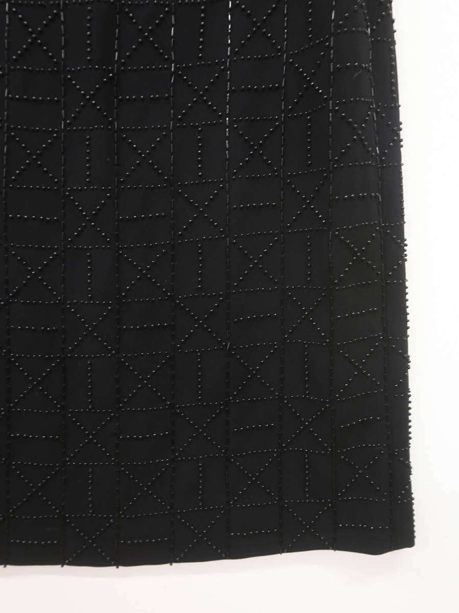 sbilla ビジューノースリーブワンピース ノースリーブ 黒 レディース A-ランク 40 [委託倉庫から出荷]