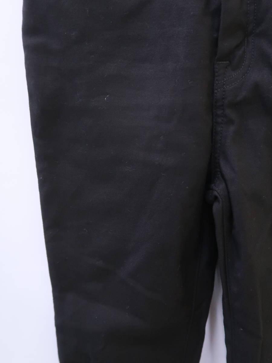 【送料無料】eimy istoire(エイミーイストワール)[2019]Black eimyベーシックスキニーパンツ 黒 レディース S-ランク 24 [委託倉庫から出荷]