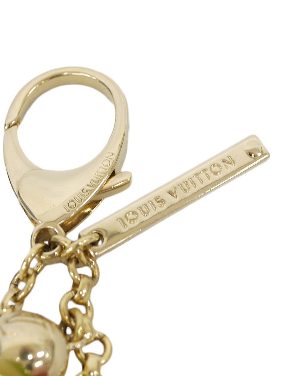 【送料無料】LOUIS VUITTON(ルイヴィトン)ビジューサック ミニラン クロワゼット M95507 / キーホルダー マルチカラー ゴールド レディース Aランク [当店倉庫から出荷]