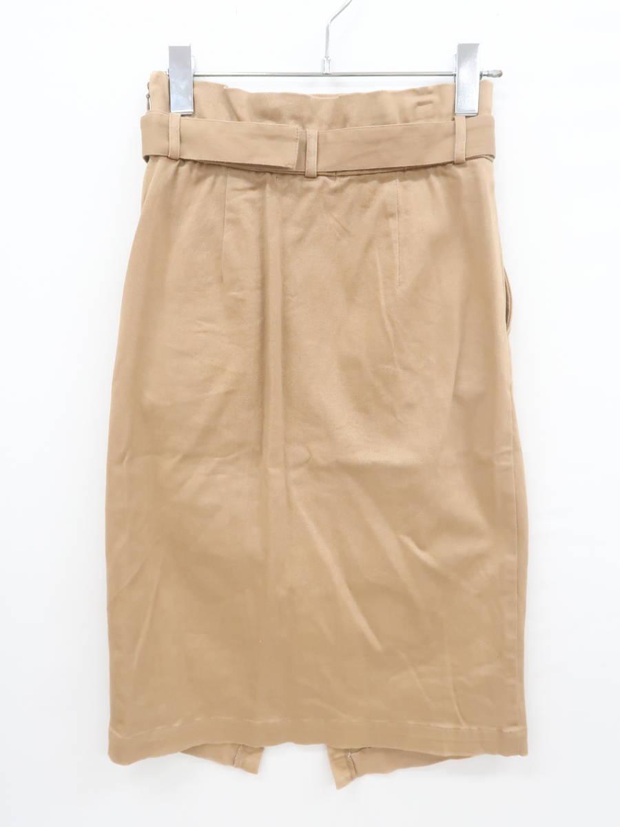 ベージュ チノ スカート