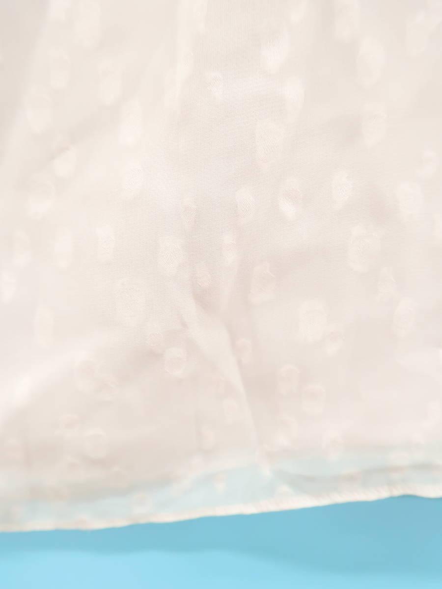 マルチドットシフォンタンクトップ ノースリーブ 紫 レディース Aランク 9 [委託倉庫から出荷]