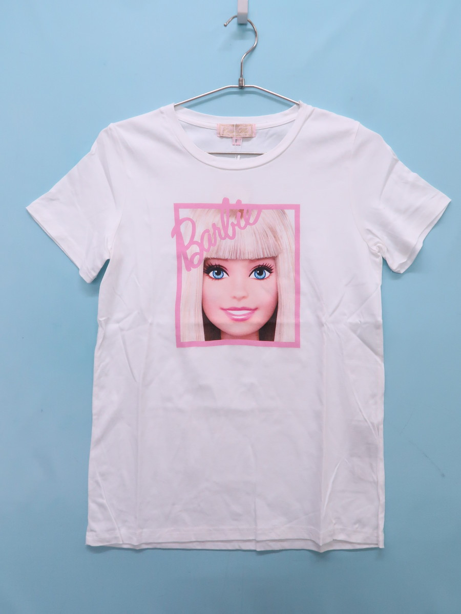 EmiriaWiz(エミリアウィズ)バービーTシャツ 半袖 白 レディース 新品 F [委託倉庫から出荷]