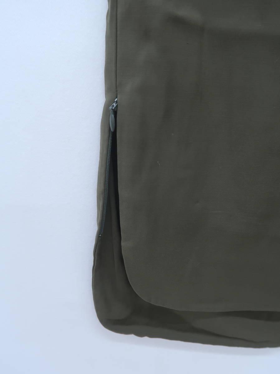 Pinky&Dianne(ピンキー&ダイアン)サイドジップアシンメトリーデザインスカート 緑 レディース Aランク 38 [委託倉庫から出荷]