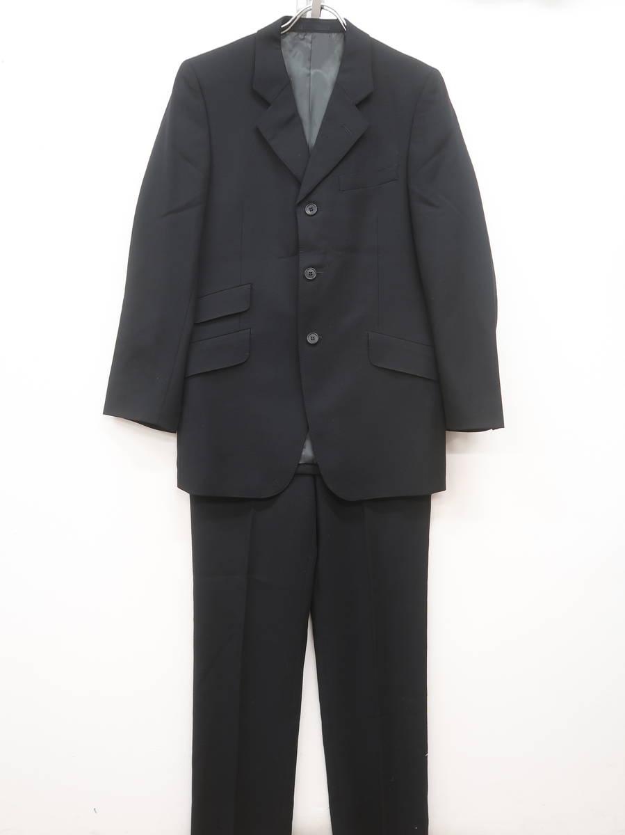 D'URBAN(ダーバン)フォーマルスーツセットアップ 長袖 黒 メンズ Aランク M [委託倉庫から出荷]