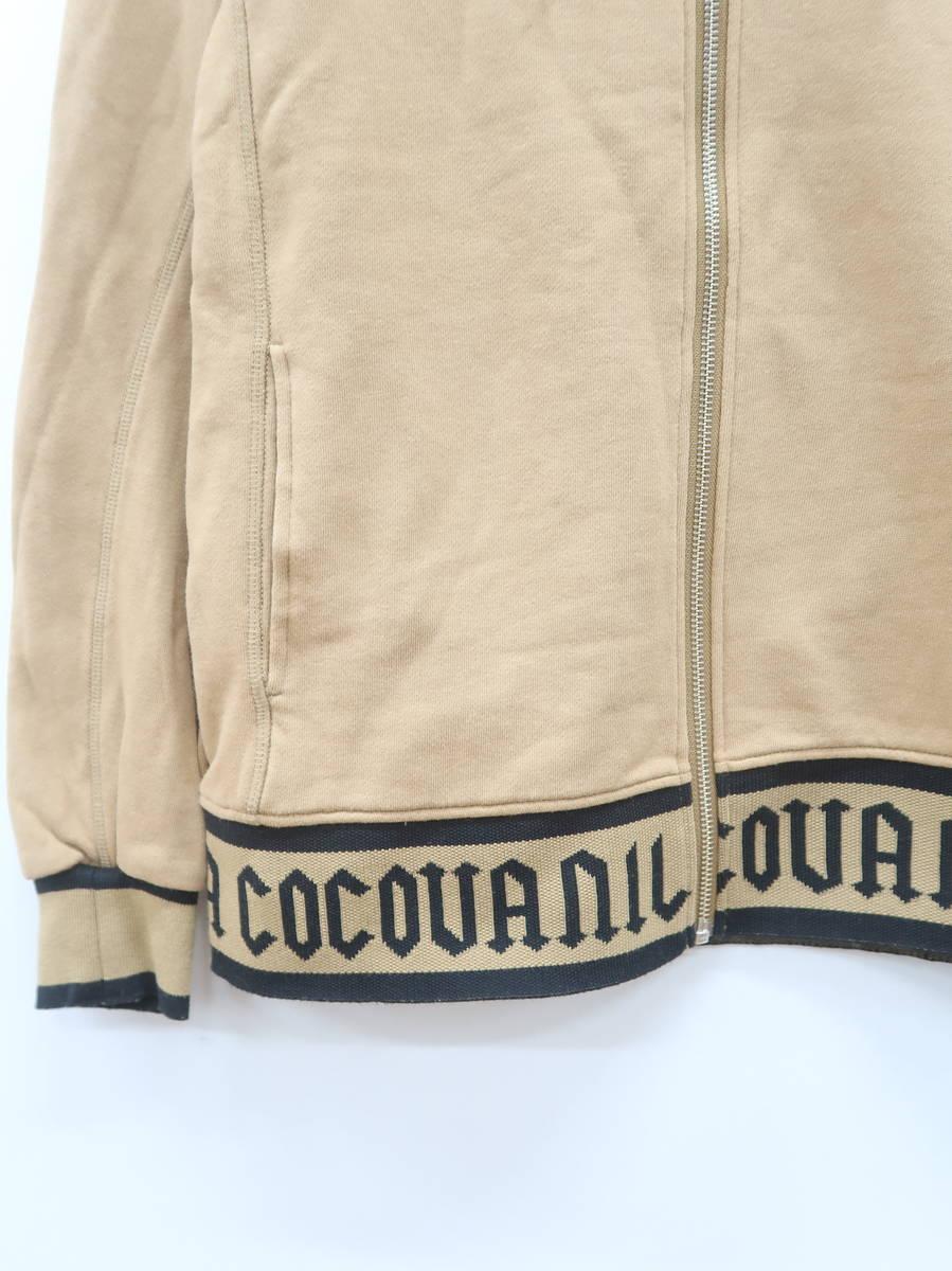 MIRROR9(ミラーナイン)Coco vanilla zip hoodie 長袖 茶/黒 レディース Aランク M [委託倉庫から出荷]