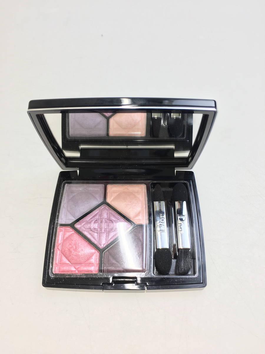 Christian Dior(クリスチャンディオール)サンククルール#817GALAXY(アイシャドウ) 紫 レディース Aランク 7g [委託倉庫から出荷]