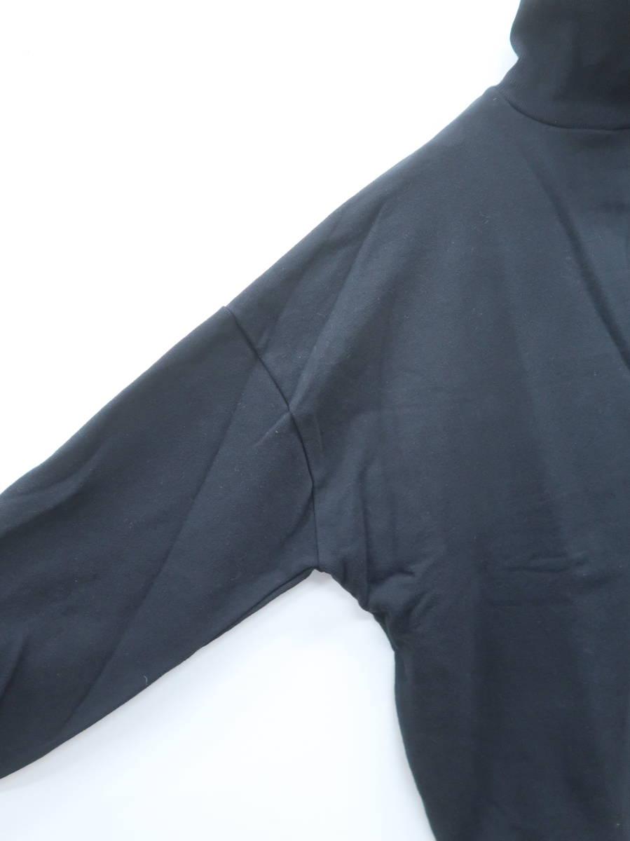 GYDA(ジェイダ)タートルアームスリットプルオーバー 長袖 黒 レディース A-ランク F [委託倉庫から出荷]