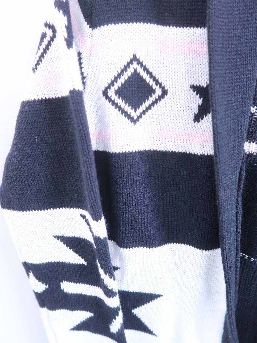 Rady(レディー)フリンジカーディガン 長袖 紺 レディース 新品 F