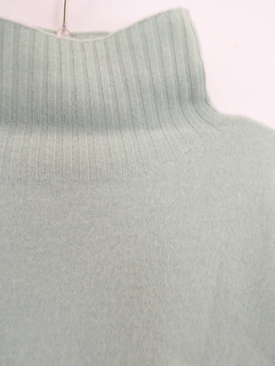 snidel(スナイデル)[2019]カシミヤニットプルオーバー 長袖 緑 レディース A-ランク F