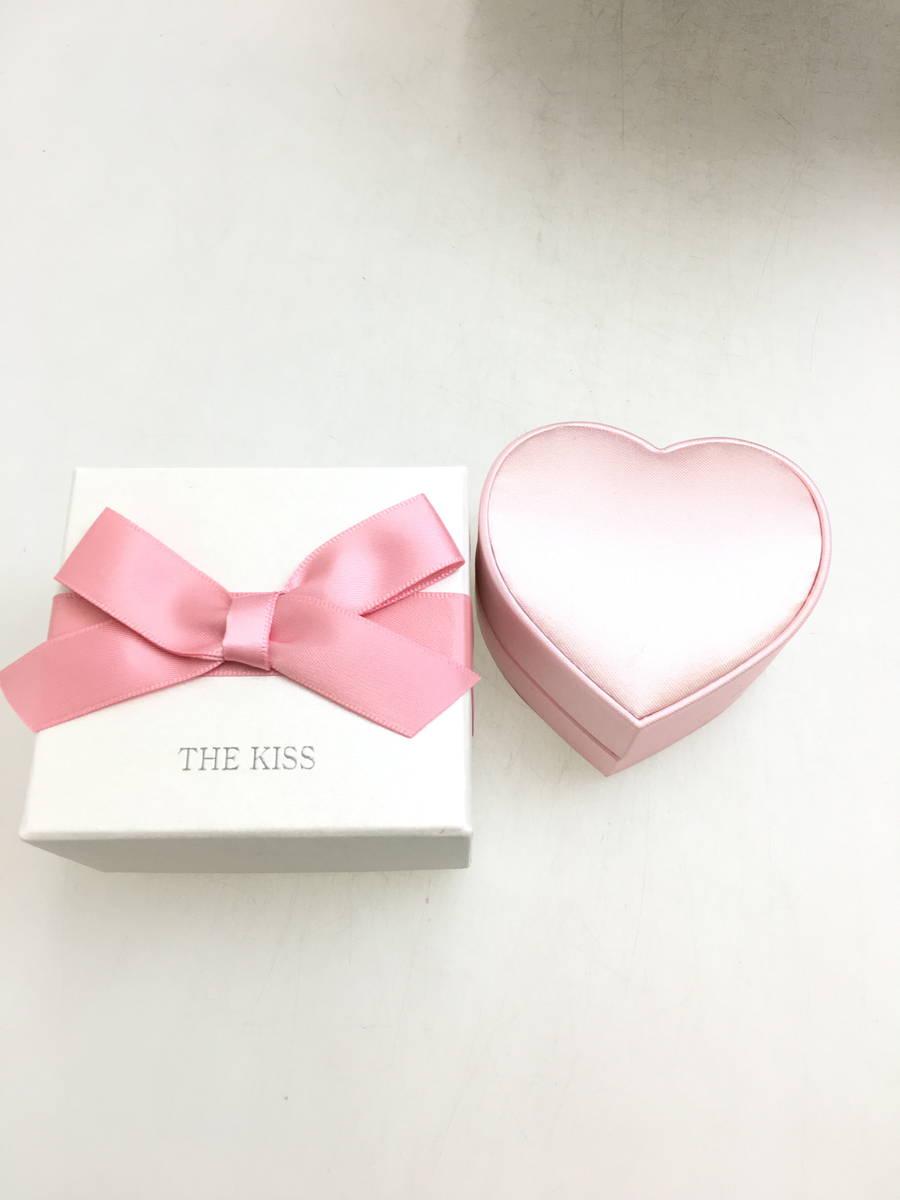 THE KISS(ザキッス)ホワイトゴールドPAVEネックレス シルバー レディース Sランク [委託倉庫から出荷]