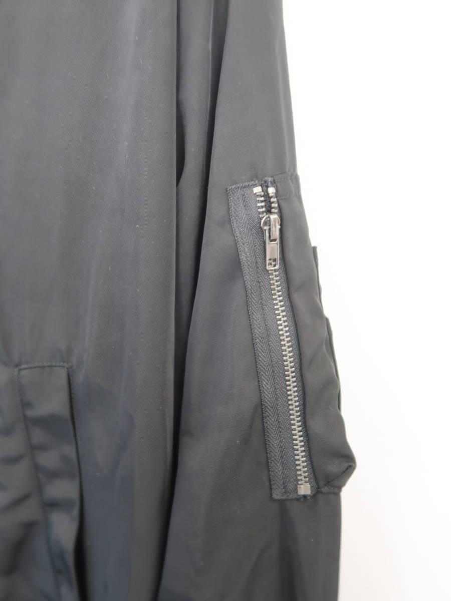 Roger&Raw(ロジャー&ロウ)リバーシブルMA-1 長袖 白/黒 レディース Aランク M [委託倉庫から出荷]