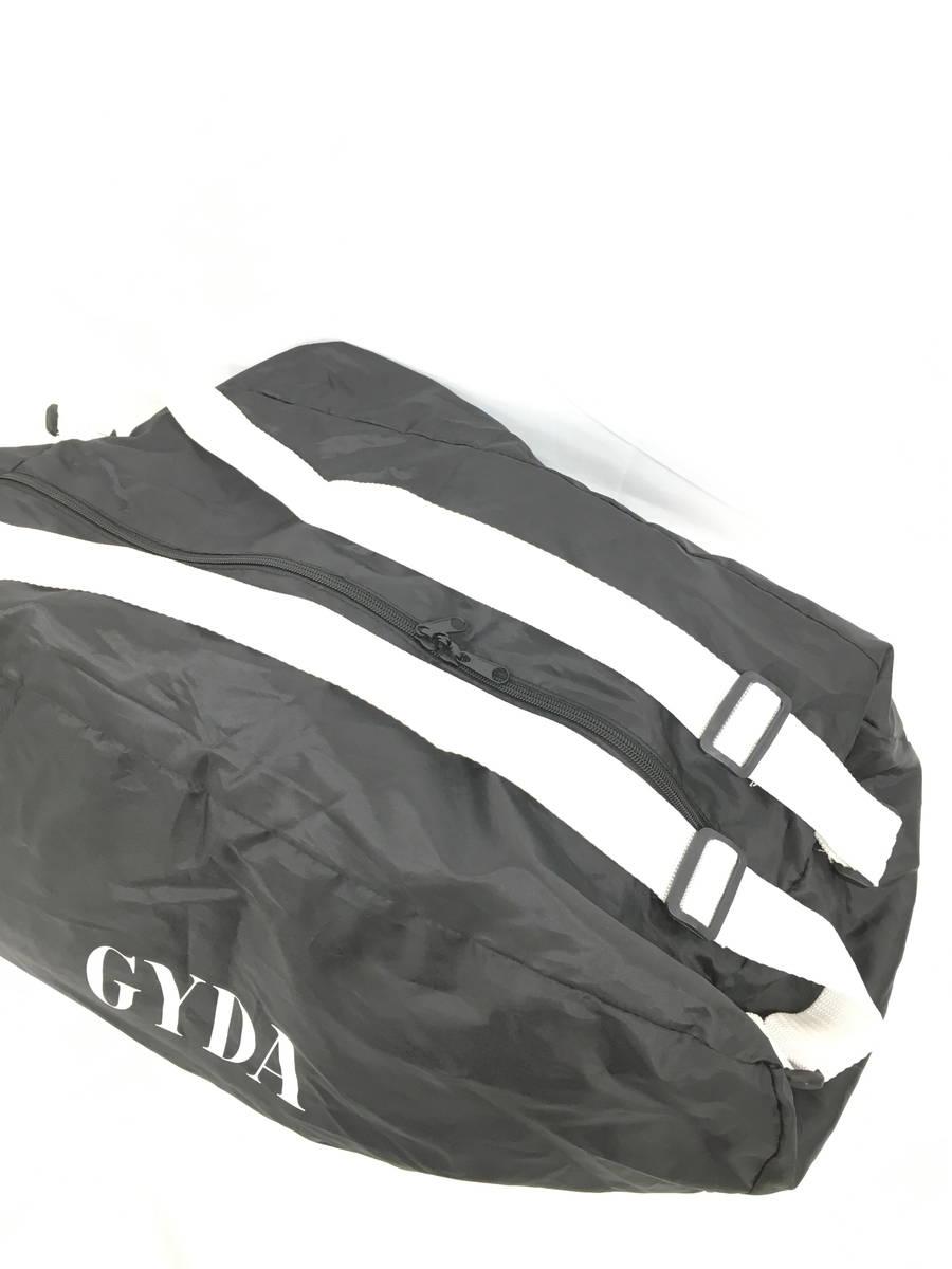 GYDA(ジェイダ)ナイロンボストンバッグ 黒/白 レディース Aランク