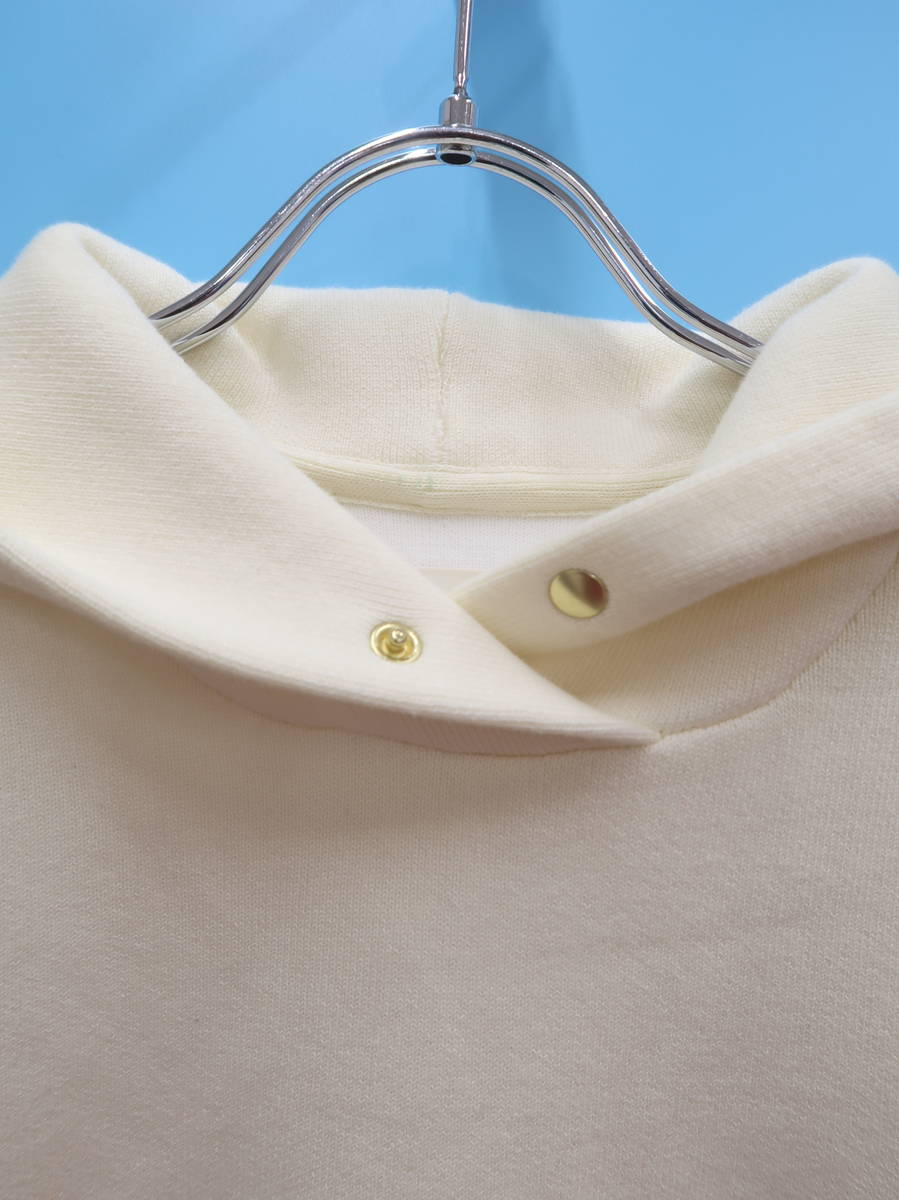 Loungedress(ラウンジドレス)ニットパーカー 長袖 白 レディース A-ランク F [委託倉庫から出荷]