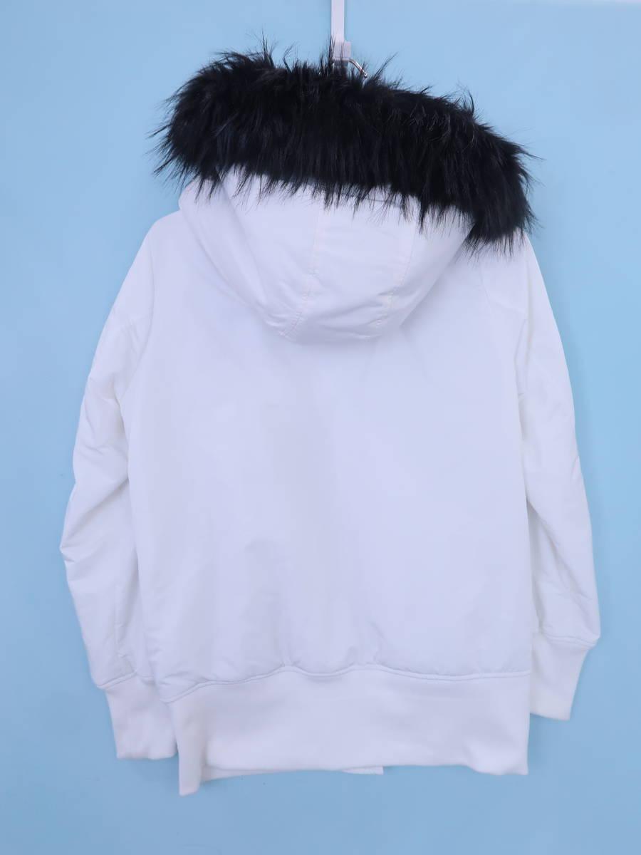 Rady(レディー)ラグジュアリーMA-1 長袖 白/黒 レディース Aランク F [委託倉庫から出荷]