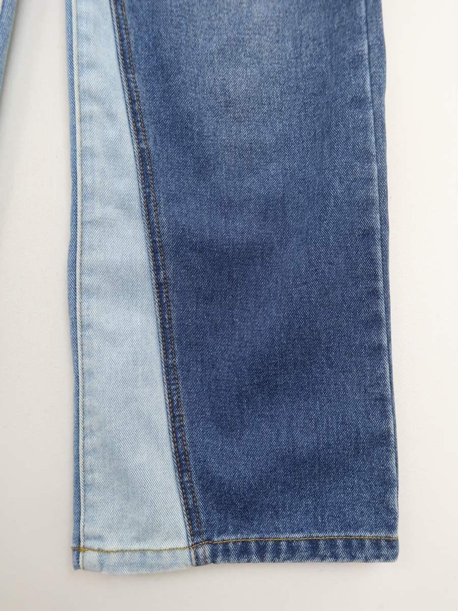 ALEXIA STAM(アリシアスタン)[2019]Inseam Switch Wide Jeans 青 レディース Aランク XS [委託倉庫から出荷]
