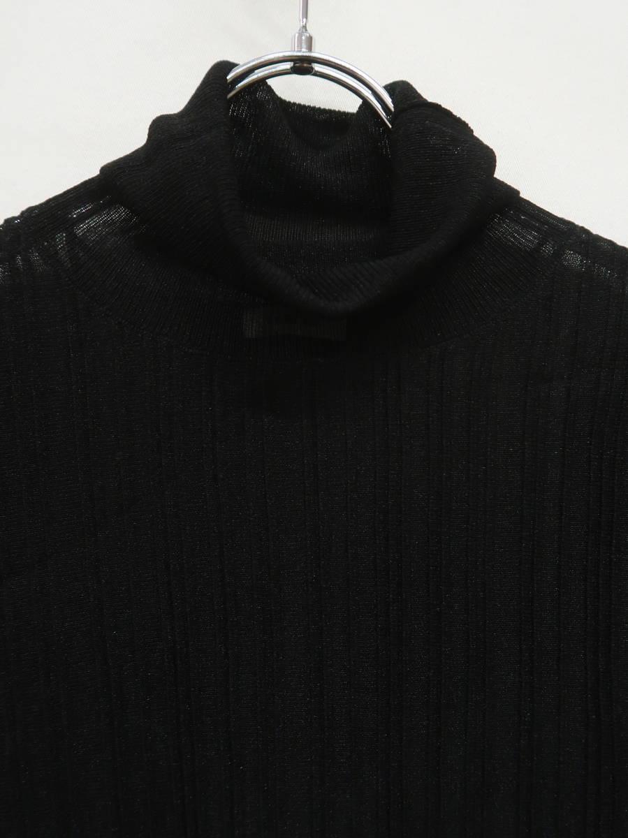 FRAY I.D(フレイアイディー)シースループルオーバー 長袖 黒 レディース 新品 F [委託倉庫から出荷]