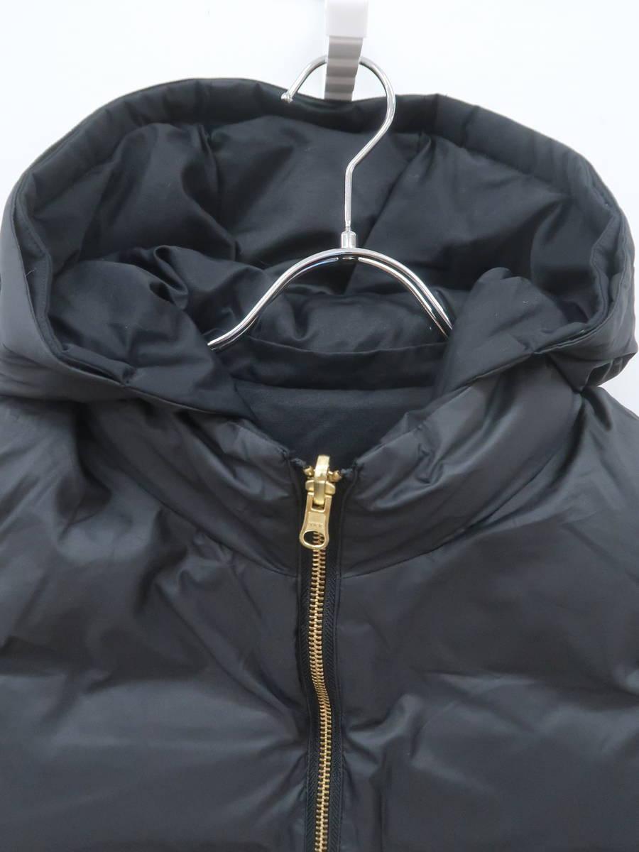ROPE(ロペ)リバーシブルダウンベスト ノースリーブ 黒 レディース Aランク 36 [委託倉庫から出荷]