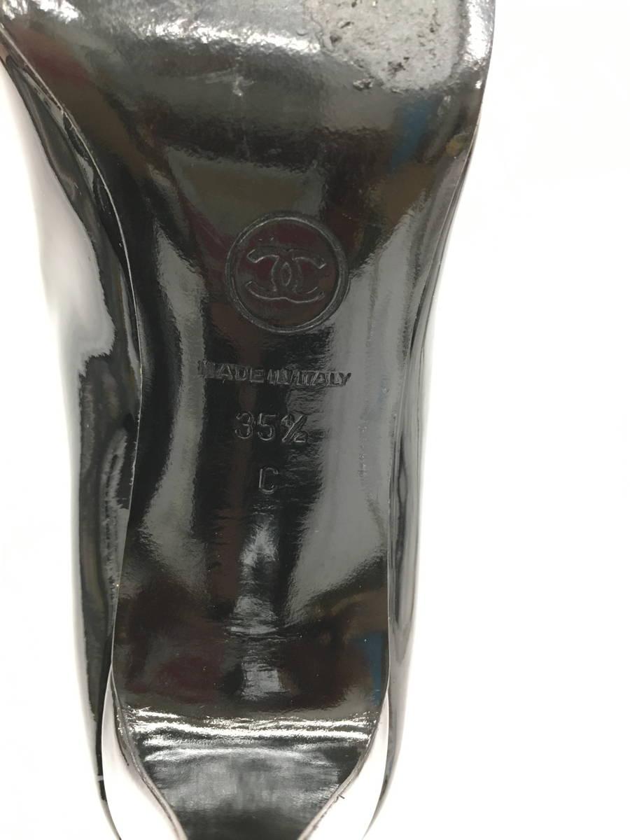【送料無料】CHANEL(シャネル)ココマークリボンパンプス/G27742 黒 レディース Aランク 35.5 [委託倉庫から出荷]