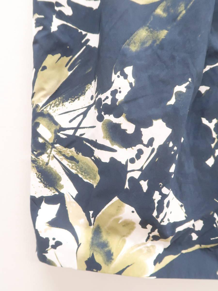 Spick and Span(スピックアンドスパン)タックフラワータイトスカート 紺/白 レディース Aランク [委託倉庫から出荷]