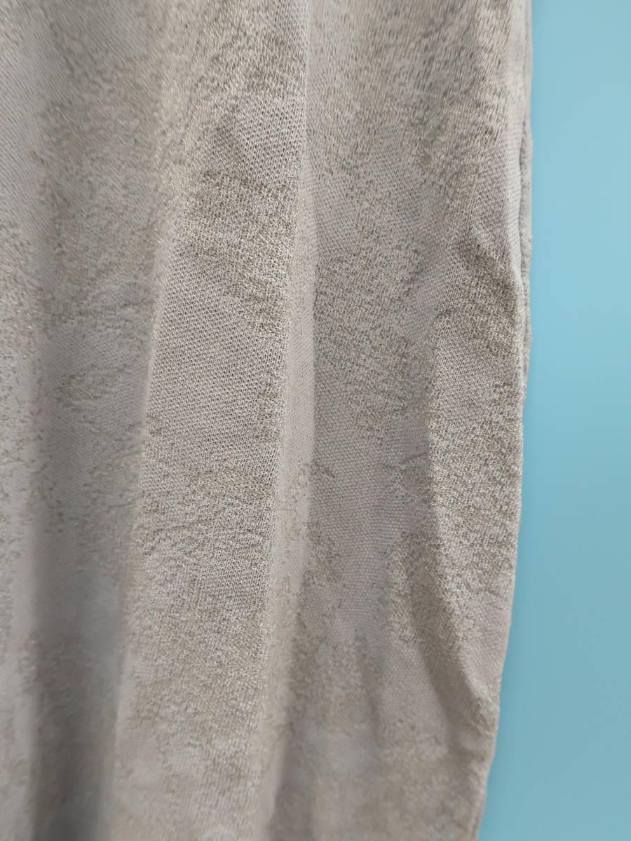 【送料無料】eimy istoire(エイミーイストワール)[2020S/S]シアースリーブジャガードフラワーワンピース 青 レディース 新品 F [委託倉庫から出荷]