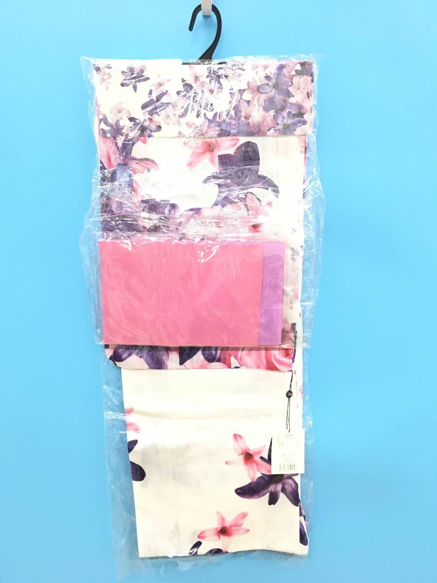 Rady(レディー)エレガンスフラワー浴衣セット 白/ピンク レディース 新品 F [委託倉庫から出荷]