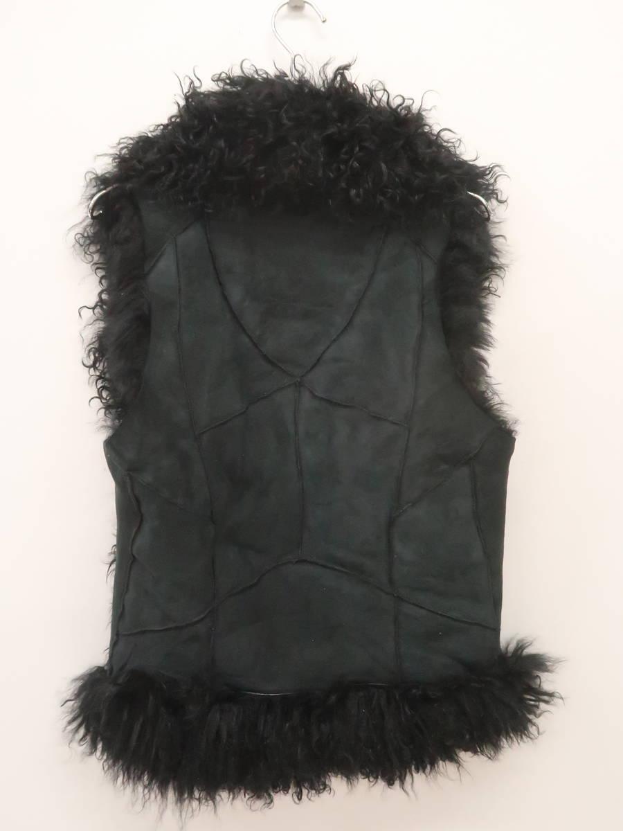 goa(ゴア)カルガンラムファーベスト ノースリーブ 黒 レディース Aランク F [委託倉庫から出荷]