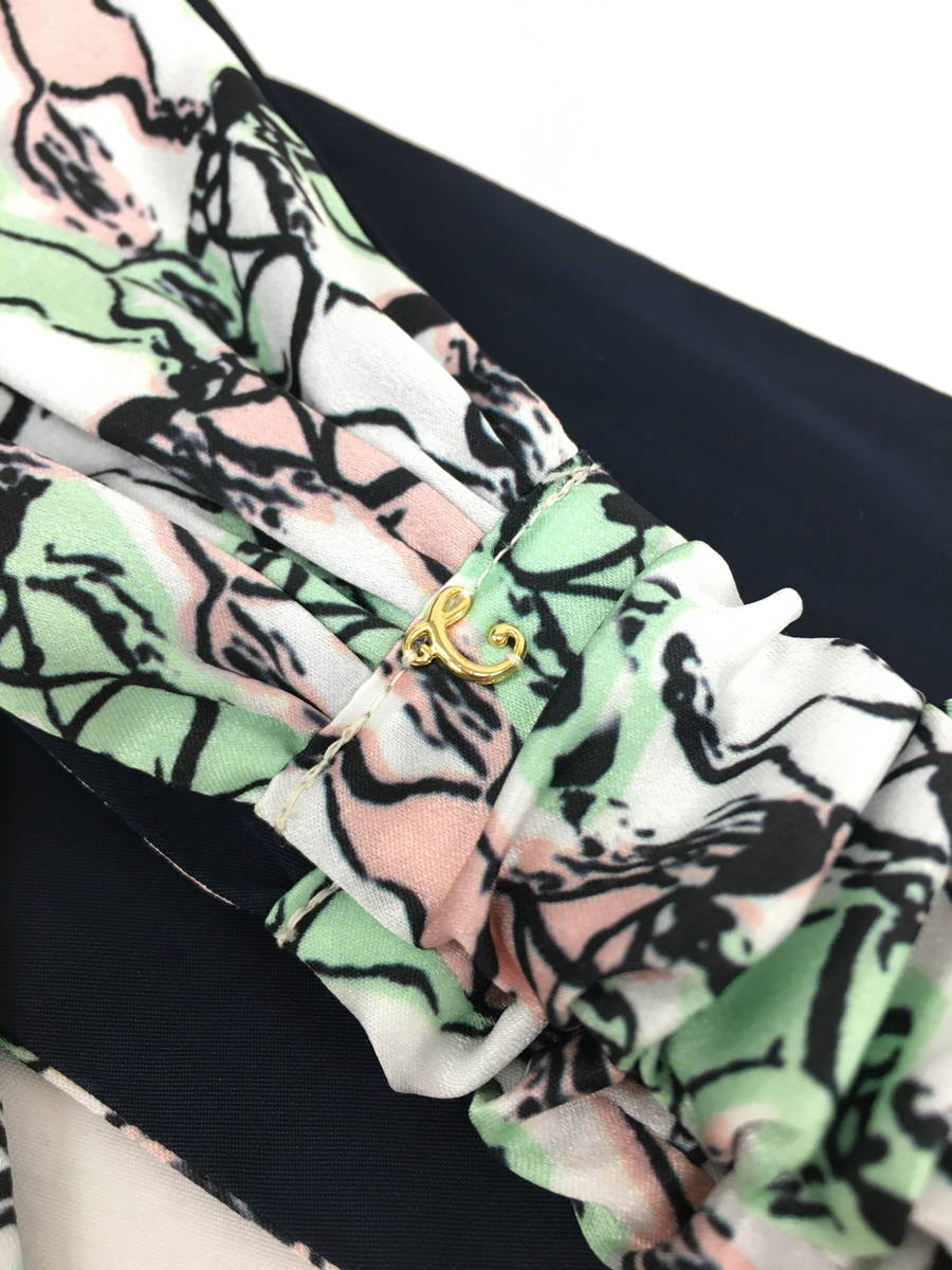 COMPLEX BIZ(コンプレックスビズ)ホーマデザインヘアターバン 緑/ピンク レディース Aランク [委託倉庫から出荷]