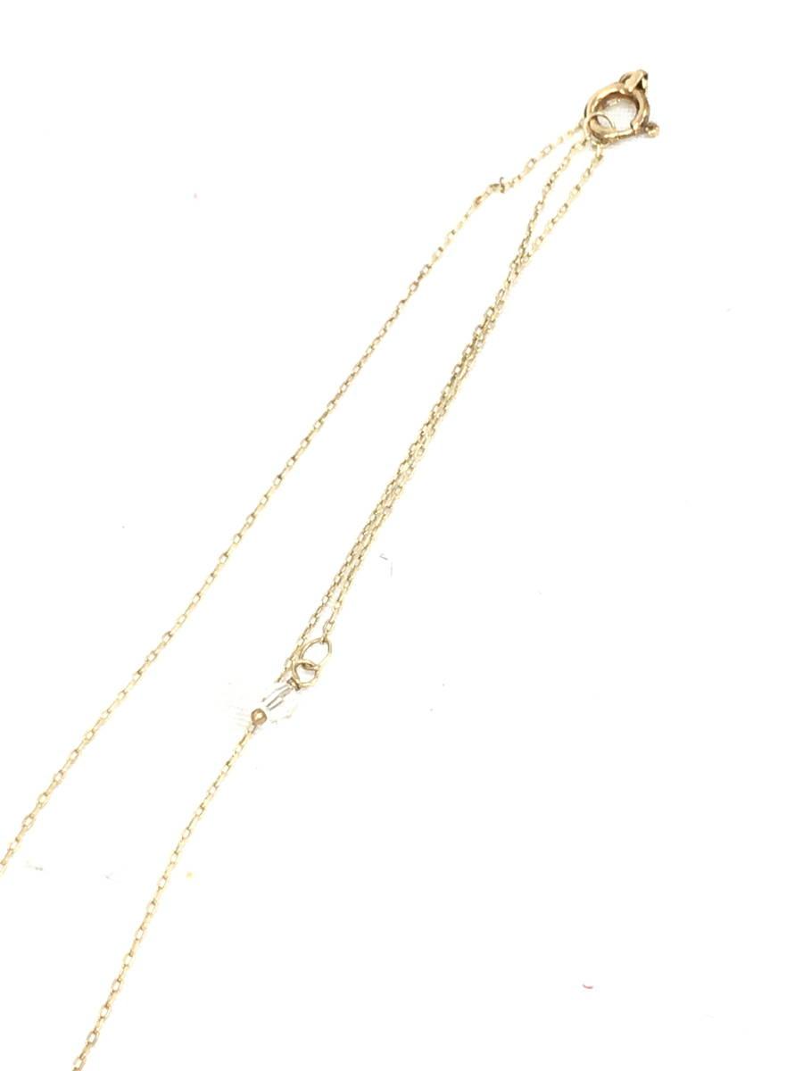 【送料無料】eimy istoire(エイミーイストワール)K10クロスネックレス ゴールド レディース Aランク [委託倉庫から出荷]