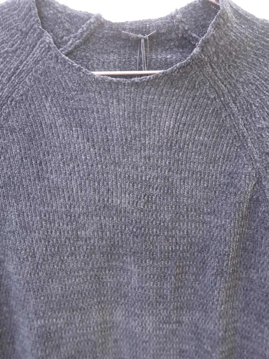 DENHAM(デンハム)ニットカットソー 長袖 黒 メンズ 新品 S [委託倉庫から出荷]