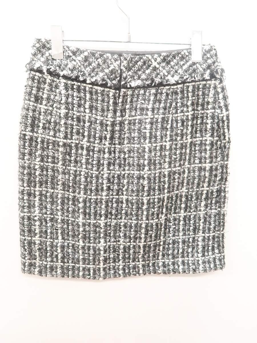 BALLSEY(ボールジー)ミックスカラースカート 黒/白 レディース Aランク 36 [委託倉庫から出荷]