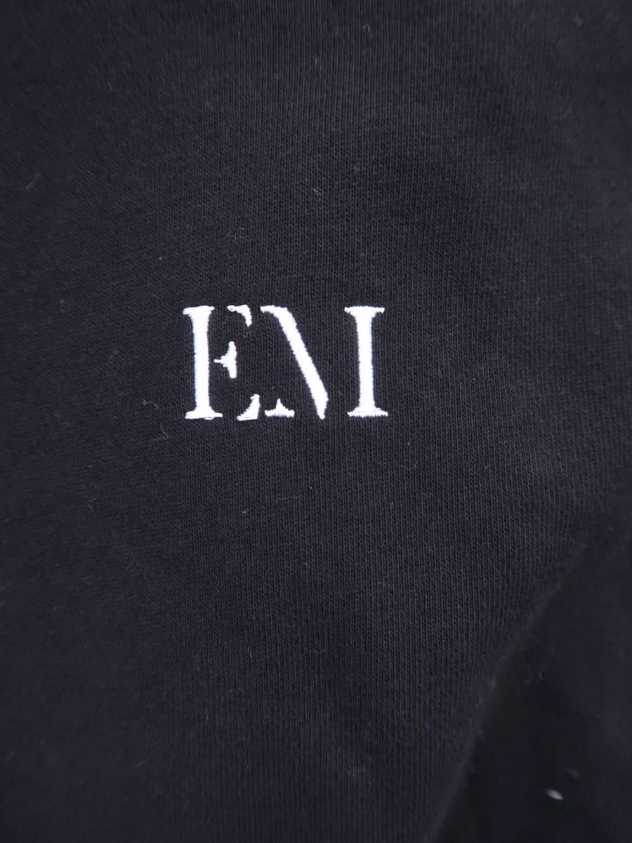eimy istoire(エイミーイストワール)eimy monogramショートパーカー 長袖 黒 レディース A-ランク F [委託倉庫から出荷]