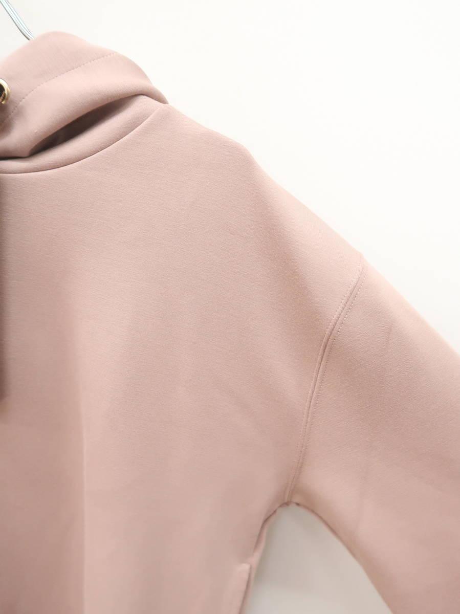 PROPORTION BODY DRESSING(プロポーションボディドレッシング)コンパクトプルオーバーパーカー 長袖 ピンク レディース Aランク FR [委託倉庫から出荷]