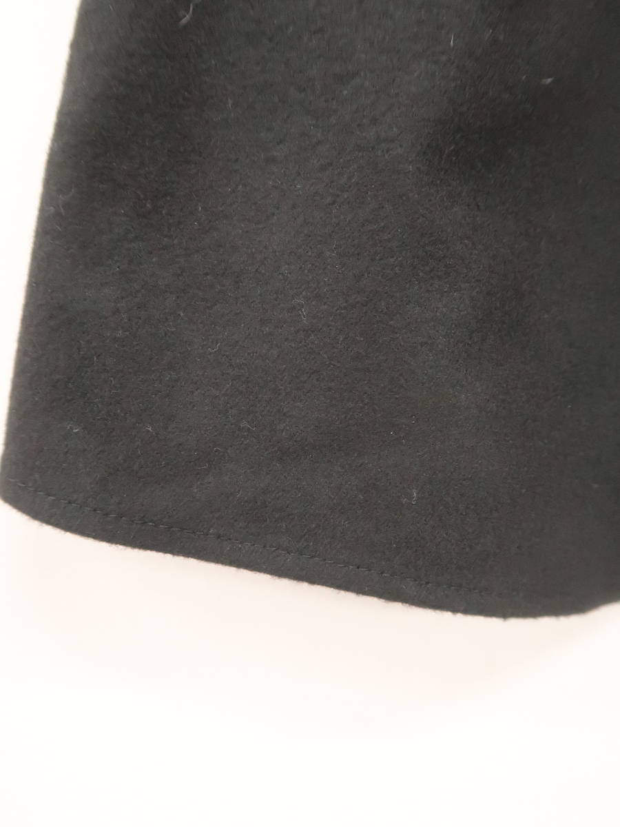 rienda(リエンダ)起毛タックアシンメトリーロングスカート 黒 レディース Aランク M [委託倉庫から出荷]